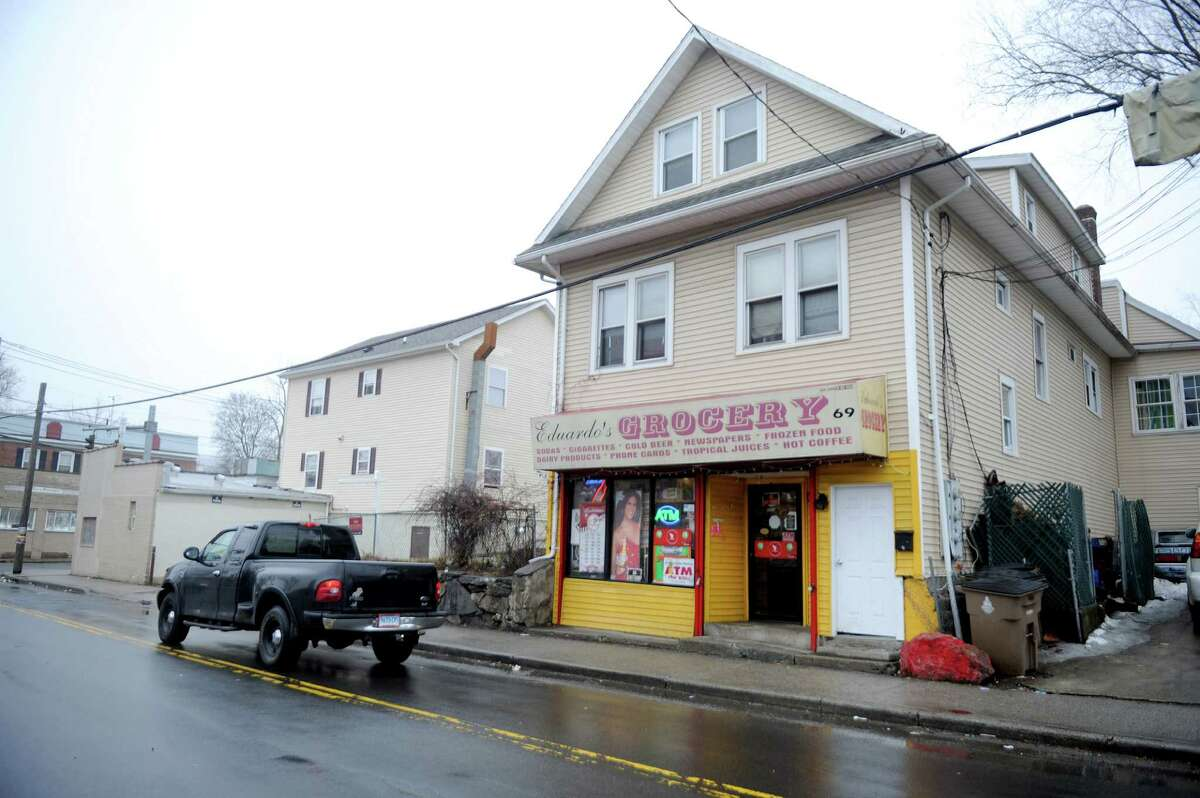 Eduardo's Grocery on Greenwich Ave. on Thursday, March 26, 2015, where owner Cesar Eduardo was arrested for allegedly selling drugs.