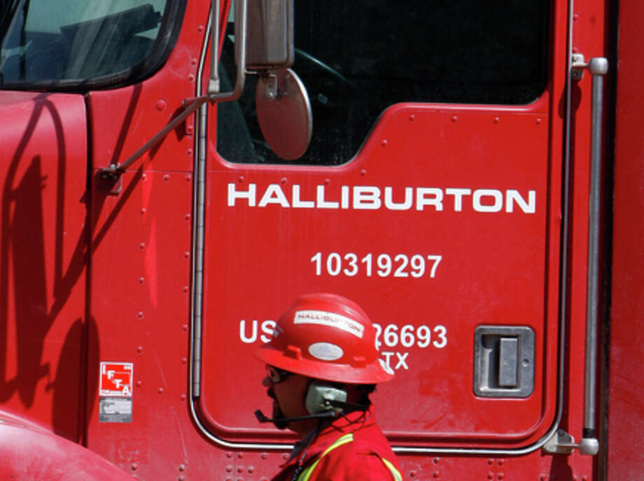 Halliburton is trying to merge with Baker Hughes. Photo: David Zalubowski / Associated Press / AP