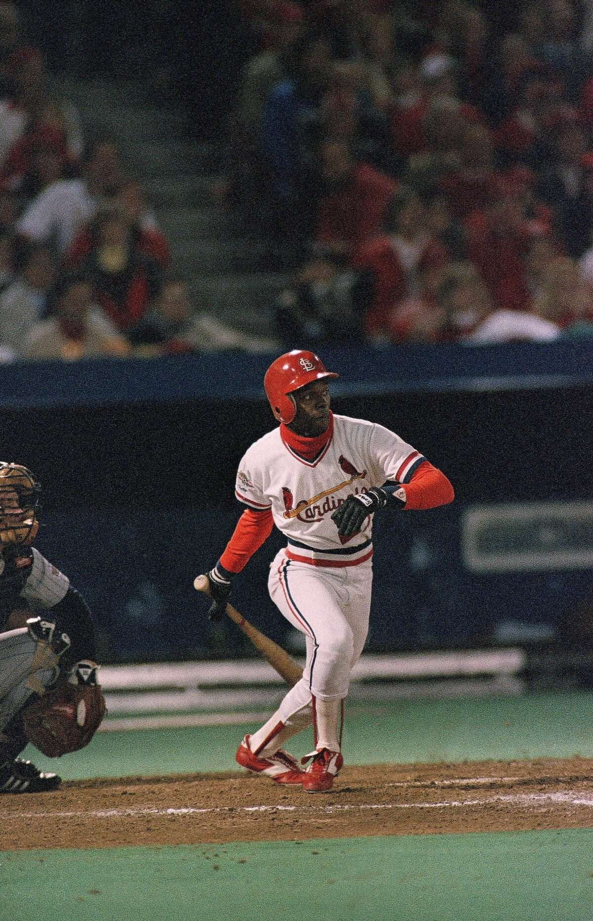 Former St. Louis Cardinals player Curt Ford says he may leave the city after being the victim of a race-related attack at a gas station. (AP Photo/Rob Kozloff)