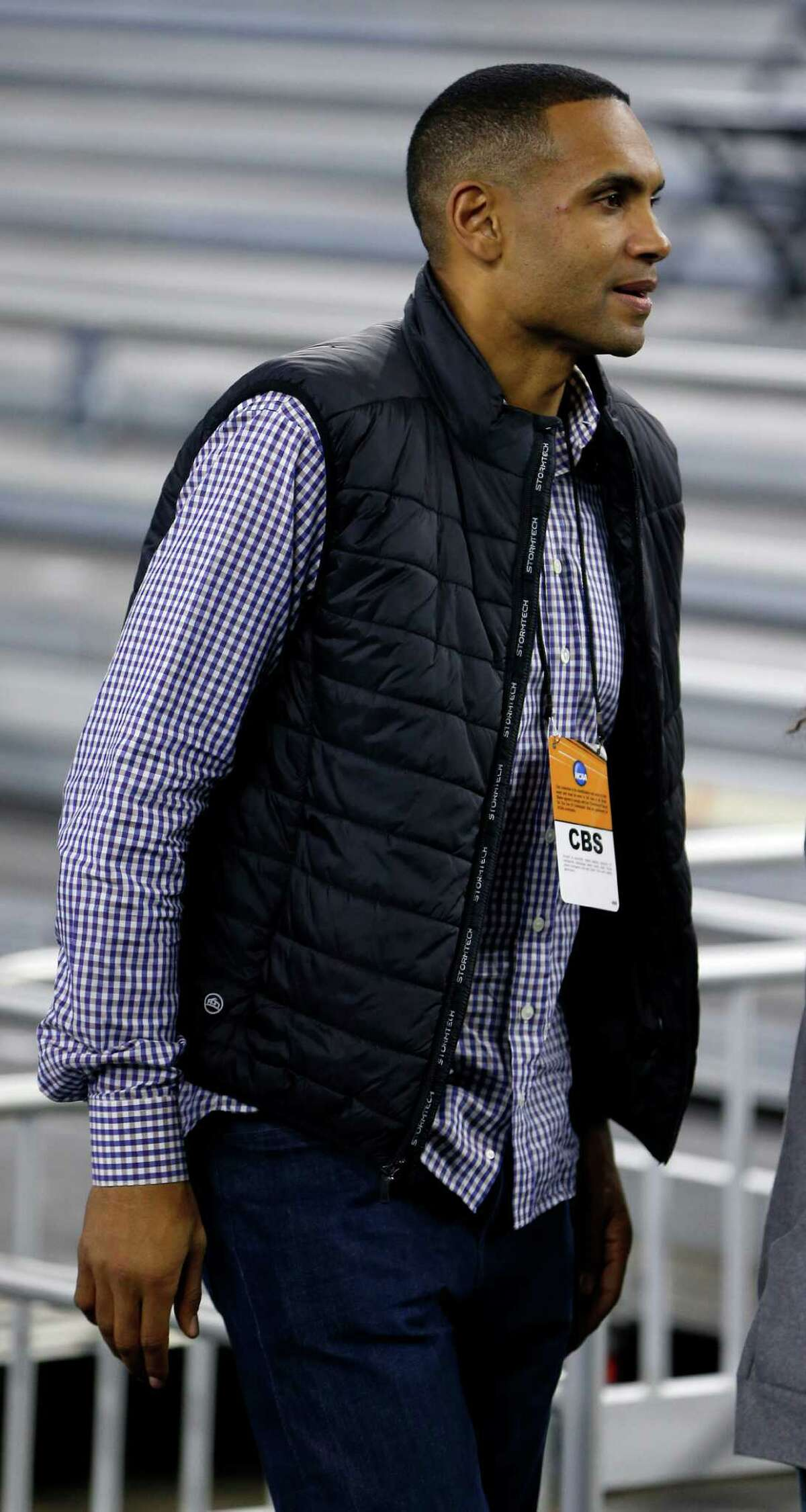 Former Duke star Grant Hill will be working his first Final Four for CBS this year.