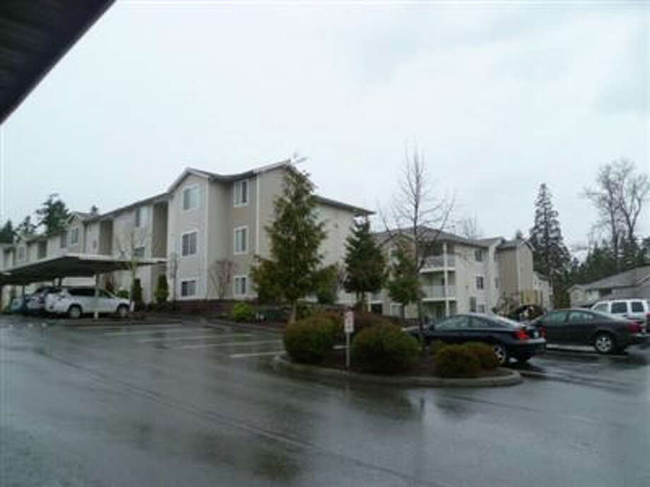 The Brookside Village Apartments, the Federal Way-area apartment complex where Oscar Smith died. Photo: King County Assessors Office