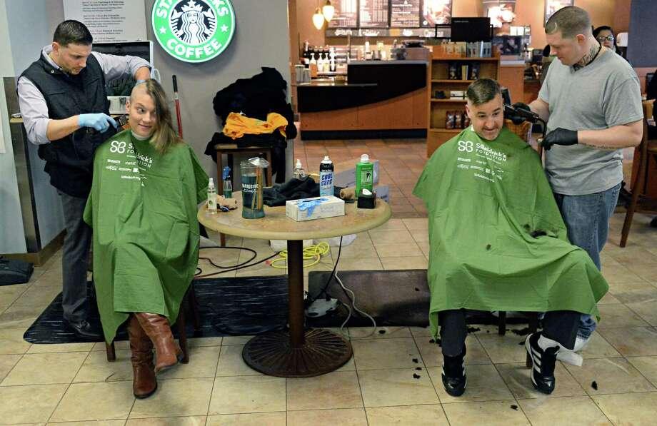 Barber Shop Albany Ny : Sammy Styles, left, and Josh Shadick of Sammy Styles Barber Shop ...