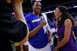 Warriors reporter Rosalyn Gold-Onwude is rookie of the year - Photo