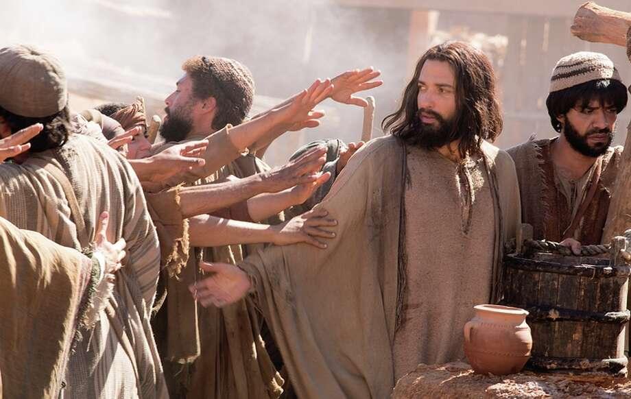 Haaz Sleiman plays Jesus Christ as a regular, not very dramatic guy next door. Photo: National Geographic Channels / National Geographic Channels / ONLINE_YES