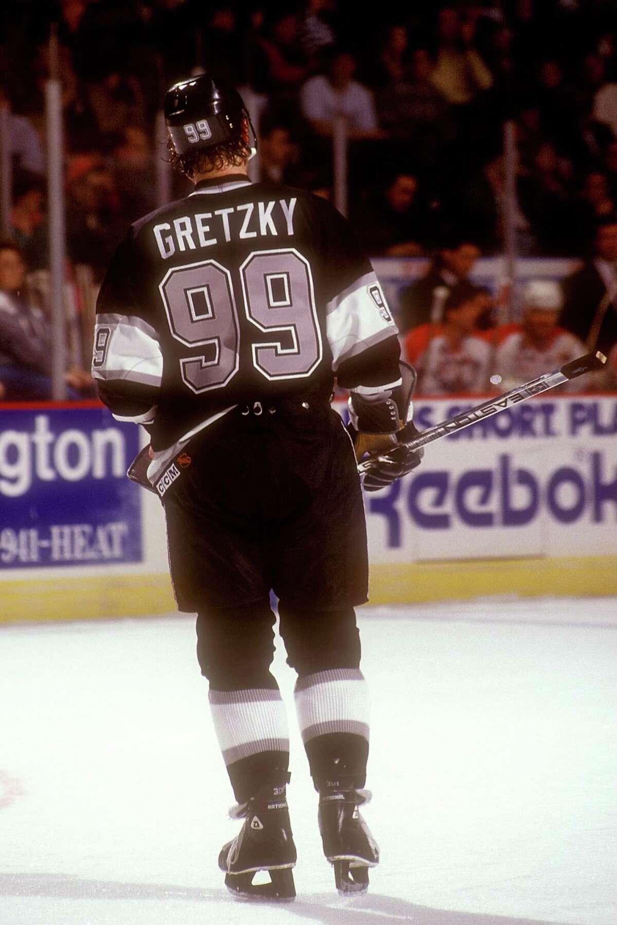 Alaska : Wayne Gretzky Los Angeles Kinds 1992-93 Authentic Jersey Source:Mitchell & Ness