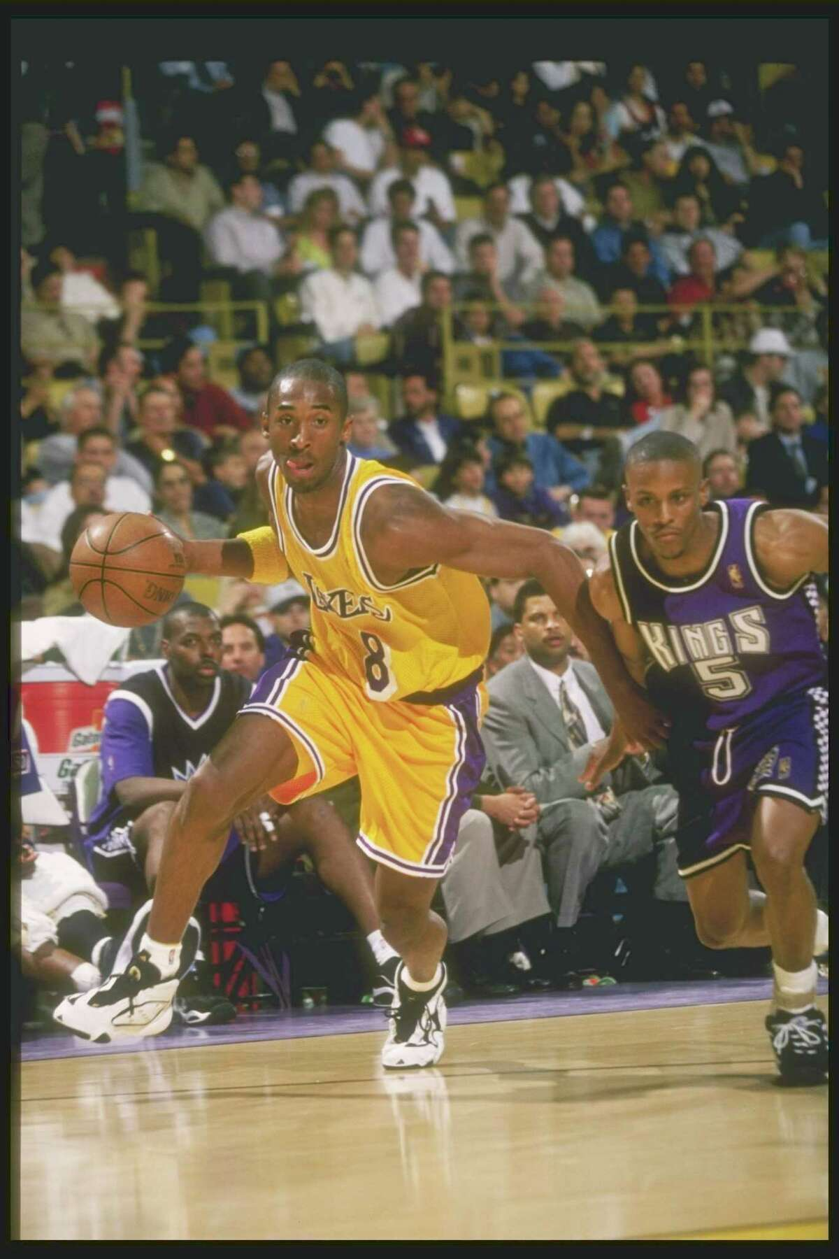 1996-97 season: Kobe Bryant was an 18-year-old rookie for the Los Angeles Lakers, winning the Slam Dunk Contest.