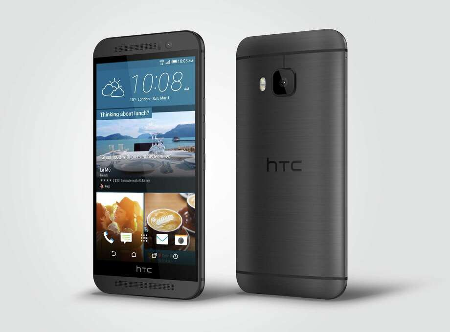This undated product image provided by HTC shows front and rear views of the HTC One M9 Android smartphone. (AP Photo/HTC, File) Photo: Uncredited, HONS / HTC