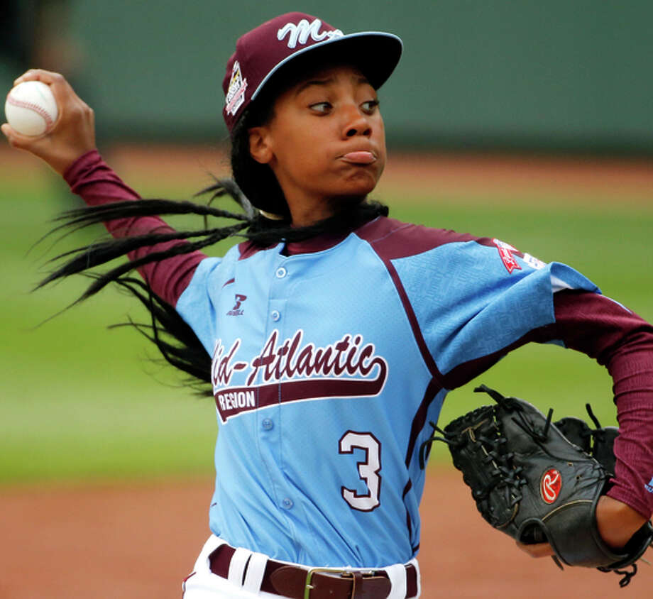 Mo'ne Davis was the first girl to earn a Little League World Series win. Photo: Gene J. Puskar / Associated Press / AP