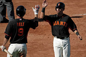 Giants' Panik hopes every-day play cures ills at plate - Photo