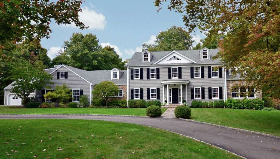 The property at 1072 Oenoke Ridge is on the market for $2,395,000. Photo: Contributed Photo / New Canaan News