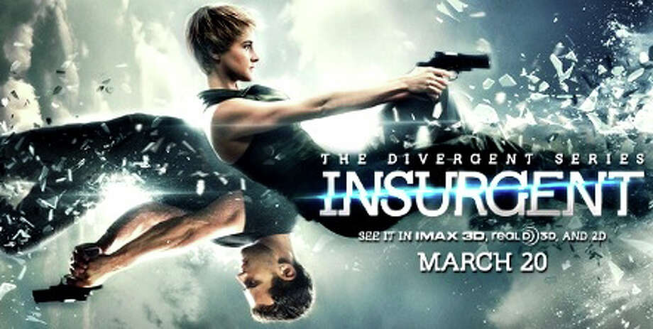"""Insurgent"" is the newly released sequel to last year's ""Divergent,"" a tale set in the dystopian future. Photo: Contributed Photo / Westport News"
