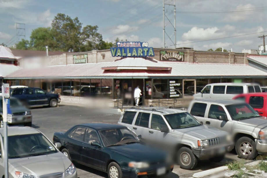 """Taqueria Vallarta #6: 3333 West Ave., San Antonio, Texas 78213 Date: 01/26/2017 Score: 69 Highlights: A half-sealed package of uncooked pork skins was """"sitting on a dirty pan filled with a yellowish liquid and dead roaches,"""" employees' opened bag of Funyuns was stored inside the sliding reach-in freezer, refried beans not properly cooled, nacho cheese not kept at correct temperature, prepared foods did not have consume-by dates, no paper towels available at front hand washing sink. Photo: Google Street View/Maps"""