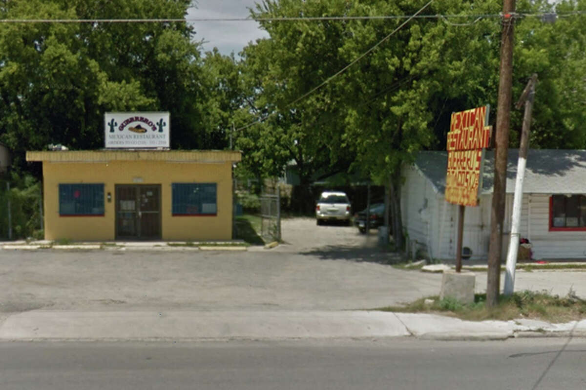 Guerrero's Mexican Restaurant: 1859 Rigsby Ave., San Antonio, TX 78210 Date: 08/08/2017 Score: 74 Highlights: Food not held at proper temperature (rice was too cold, was discarded); food not protected from cross-contamination (raw eggs, ready-to-eat vegetables); employee seen not wearing gloves, using utensils while handling ready-to-eat foods; leak seen in mop sink; hand-washing sink should be installed in kitchen; room in back of business should be insect-, rodent-proof; accurate thermometers not found in coolers; missing ceiling tiles should be replaced