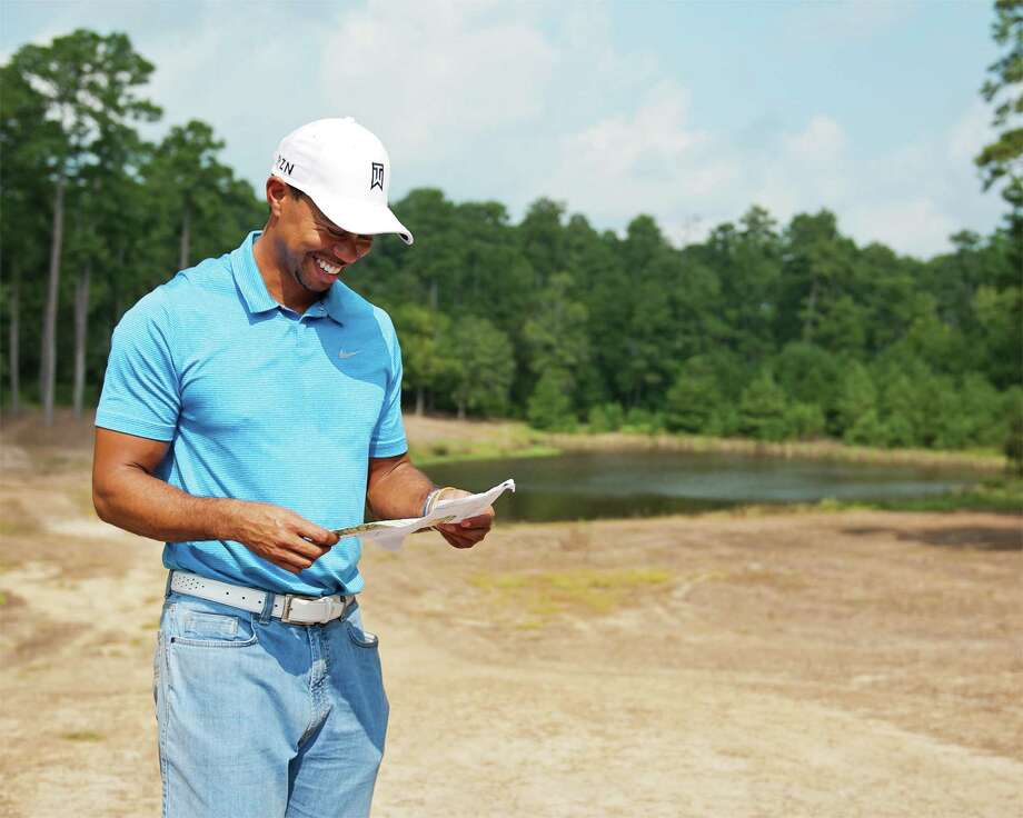 Tiger Woods at Bluejack National Photo: HOLLY PAULSON