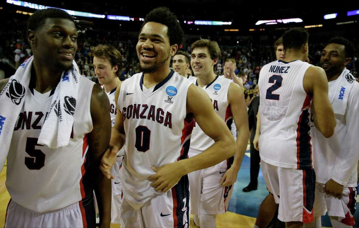 Gonzaga vs. UCLA 2. Gonzaga's overall hot hand The Bulldogs collectively have spent most of the season on fire from the field. Their 52.6 percent shooting leads the nation, and in an 87-68 whipping of Iowa in their last game in the Tournament, they shot 61.5 percent (compared with the Hawkeyes' 46.7 percent).