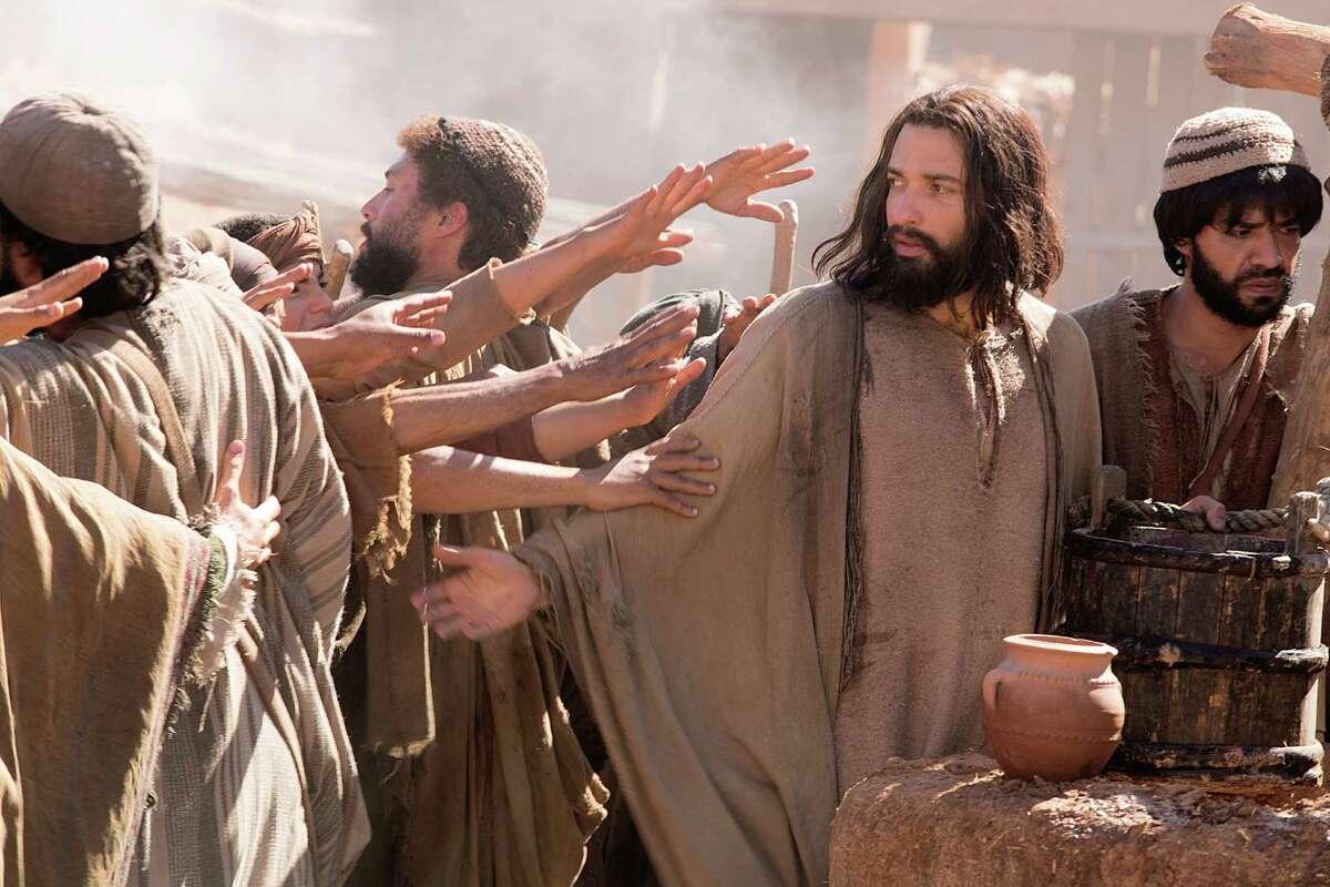 "Haaz Sleiman plays the title role in ""Killing Jesus."""