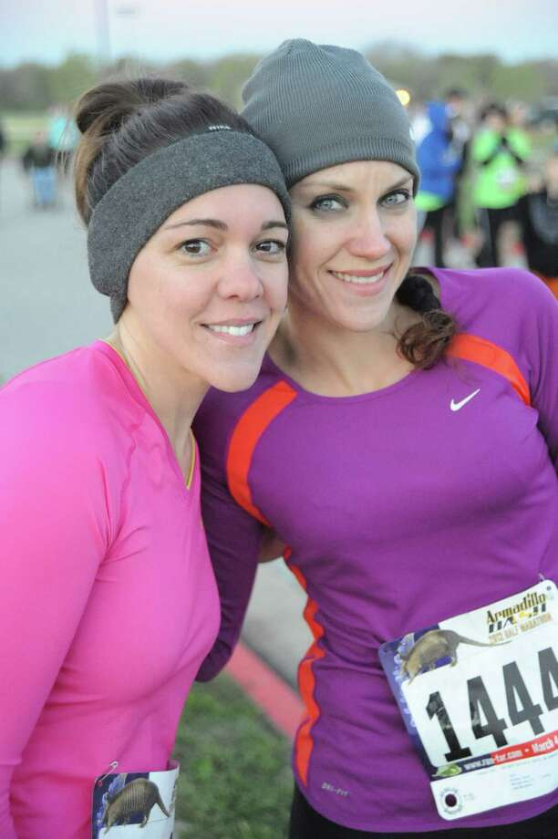 Andrea Terna, right, created the Angel Run three years ago after her close friend and running partner, Kelsey Knepprath, left, died of a secondary infection just two days after being diagnosed with the flu. She was 32.