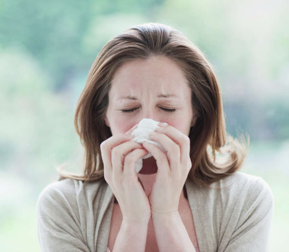 Are you experiencing itchy, irritated eyes, a constant sore throat and a persistent urge to sneeze? Congratulations, you are one of many thousands in the Houston area who are being pummeled by allergies. A local doctor offers tips on how to avoid allergy trouble in Houston as the yellow pollen onslaught continues. Photo: Tom Merton, Getty Images / OJO Images RF