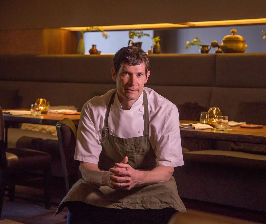 Chef Daniel Patterson of Coi in  San Francisco, Calif., is seen on March 26th,  2015. Photo: John Storey