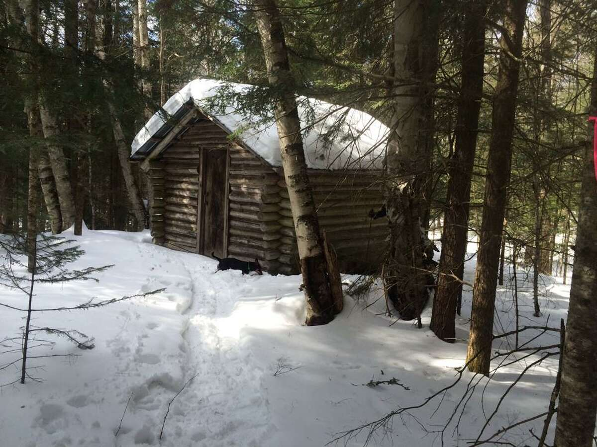 A 10-by-12 cabin in the Adirondacks, built in 1975. ORG XMIT: H8_VlYEDFGL6O8hAiv33