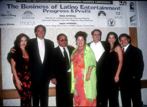 Jennifer Lopez, Gregory Nava, Abrahan Quintanilla, Jackie Guerra, Cris Franco, Constance Marie and Jacob Vargas (Photo by Albert L. Ortega/WireImage) Photo: Albert L. Ortega, Getty Images / WireImage