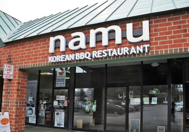 Entrance to Namu Korean BBQ on Central Avenue Friday March 20, 2015 in Colonie, NY.   (John Carl D'Annibale / Times Union) Photo: John Carl D'Annibale / 10031115A