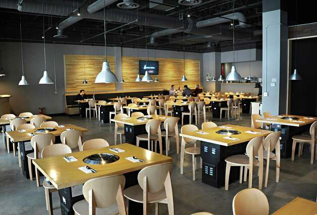 Interior of Namu Korean BBQ on Central Avenue Friday March 20, 2015 in Colonie, NY.   (John Carl D'Annibale / Times Union) Photo: John Carl D'Annibale / 10031115A