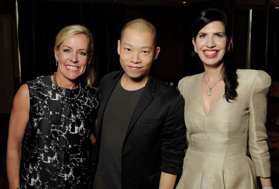 From left: Rosemary Schatzman, designer Jason Wu and Dr. Kelli Cohen Fein  Photo: Dave Rossman, For The Chronicle / Freelalnce