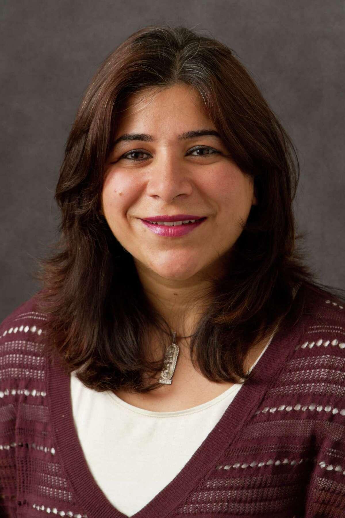 Sujata Gadkar-Wilcox, assistant professor of legal studies at Quinnpiac University. October 3, 2011.