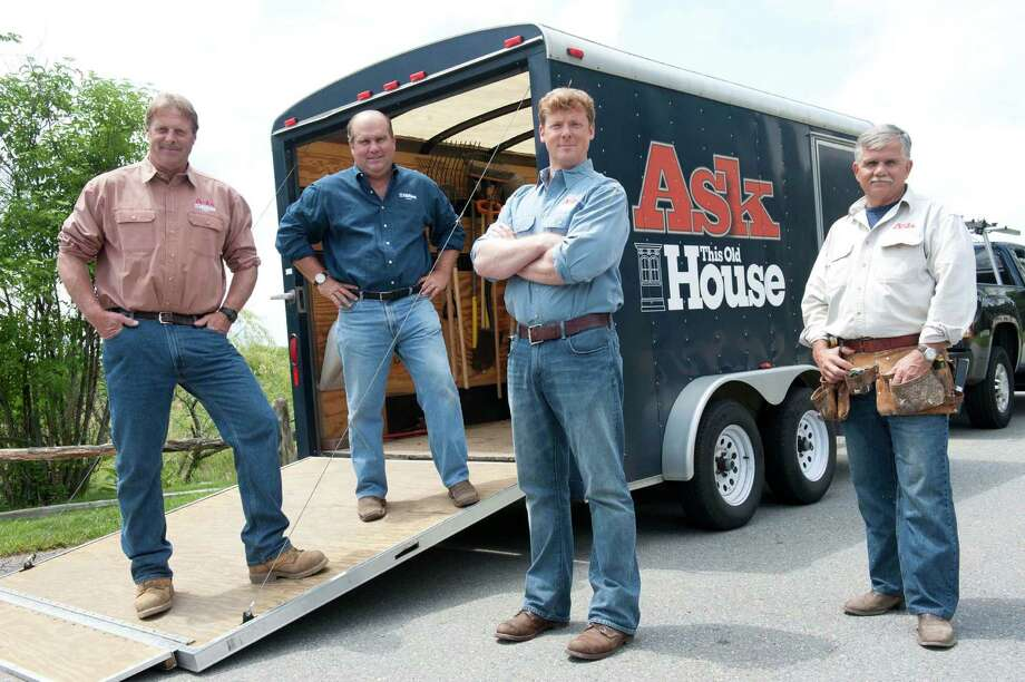 "The team of home-repair experts from ""Ask This Old House"" — Kevin O'Connor, Roger Cook, Richard Tretheway and Tom Silva — will be rolling into the Alamo City in May to make house calls. Photo: Courtesy WGBH /Webb Chappell / WEBB CHAPPELL 2010"