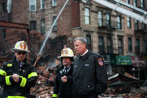 Gas line tampering may have caused Manhattan building to collapse - Photo