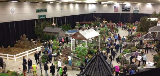 Capital District Garden & Flower Show opens Friday, March 27, 2015 at Hudson Valley Community College in Troy. (John Carl D'Annibale/Times Union)