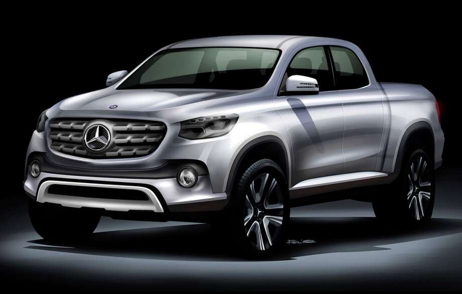 Is this the shape of things to come?Mercedes-Benz is working on an all-new pickup, along the lines of this concept car.Click through to see some other pickup dreams from auto shows over the years.