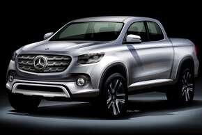 Mercedes pickup.