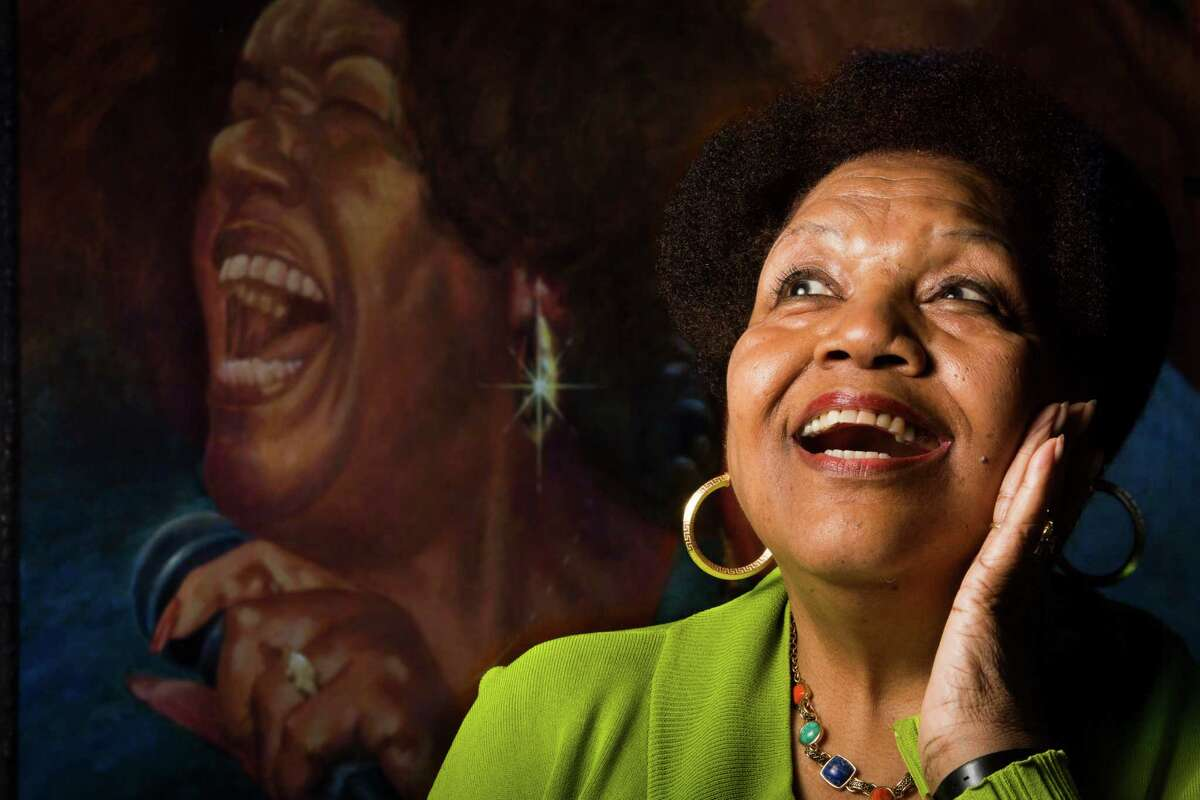 Jewel Brown, 77, has been called one of the greatest blues vocalists to come out of Houston. She now has resumed her career.