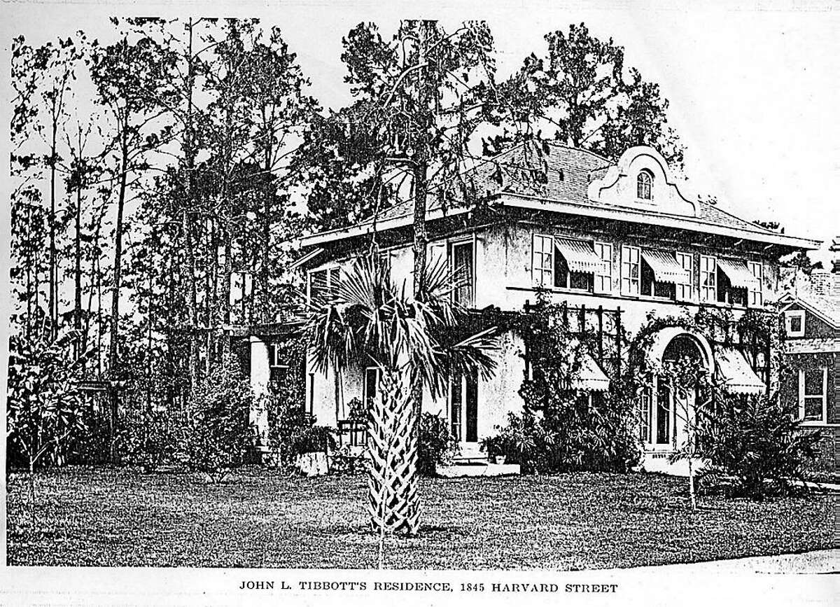 Historic look at 1845 Harvard, a home built in 1914.