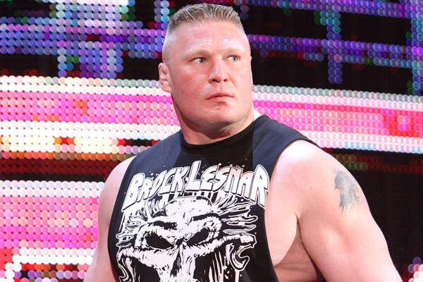 WWE's Brock Lesnar.