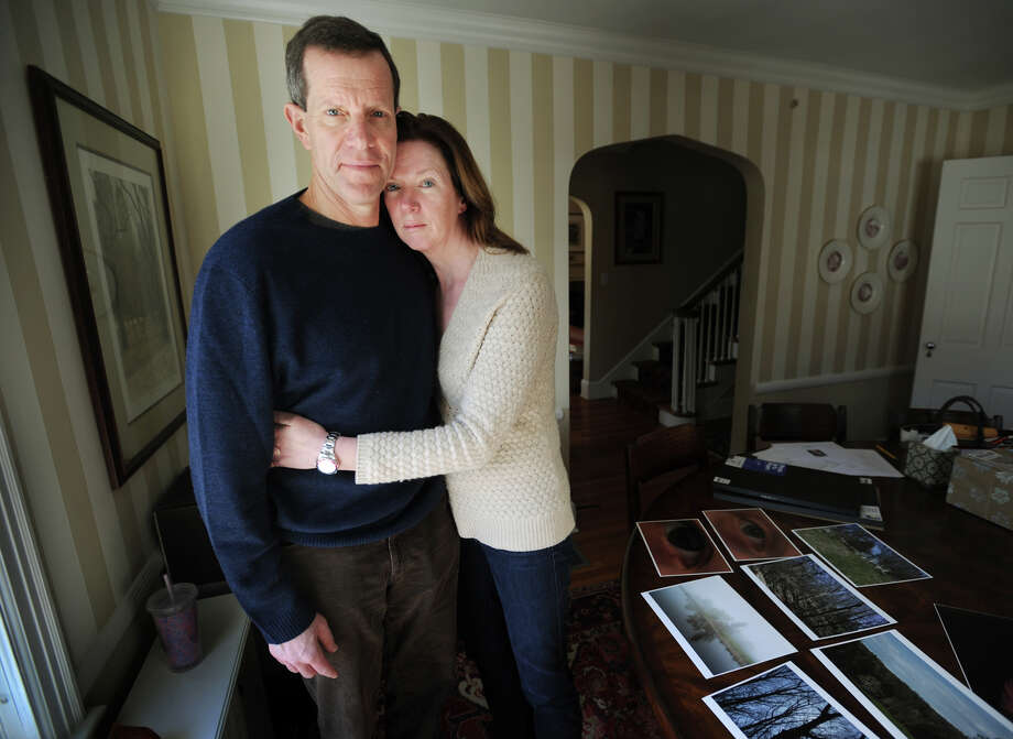 Ivan Maisel and Meg Murray, parents of Max Maisel, at their home in Fairfield, Conn. on Monday, March 23, 2015. Maisel, 21, a junior at the Rochester Institute of Technology, went missing on February 22 in the vicinity of the Genesee River in upstate New York. Photo: Brian A. Pounds / Connecticut Post