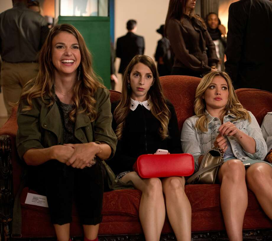 "Liza (Sutton Foster), Lauren (Molly Bernard) and Kelsey (Hilary Duff) are friends in Darren Star's new sitcom for TV Land, ""Younger"" Photo: TV Land"