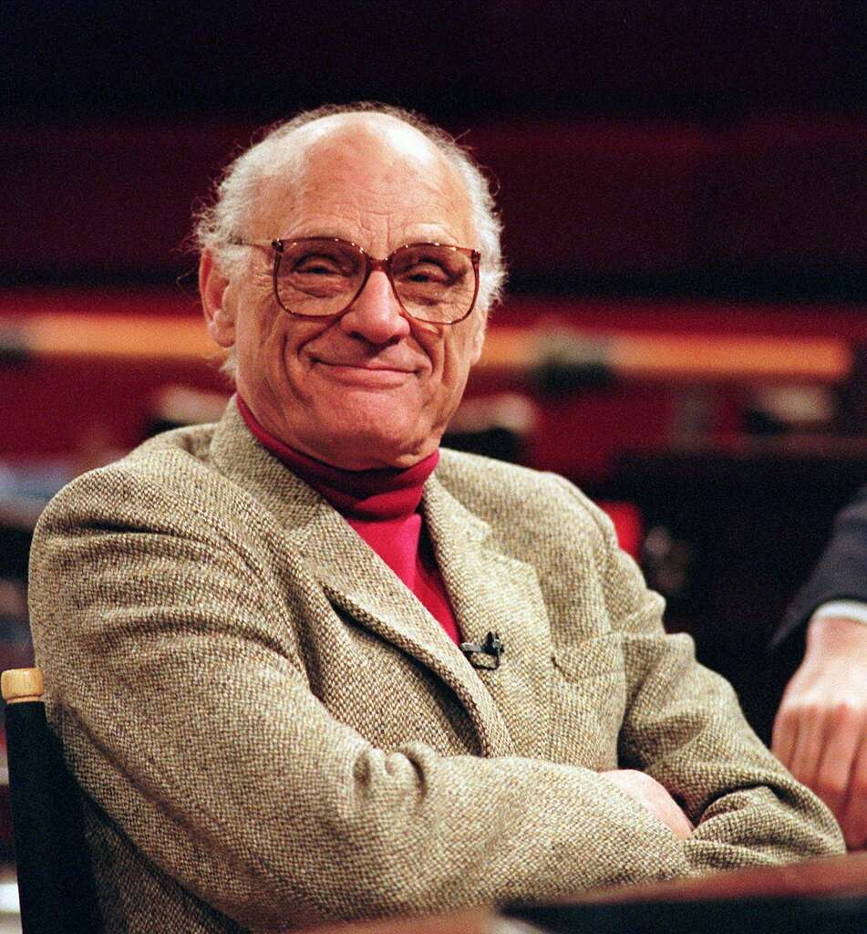 miller s all my sons probes ethics consequences houston chronicle file playwright arthur miller is shown in this 1990 file picture the pulitzer