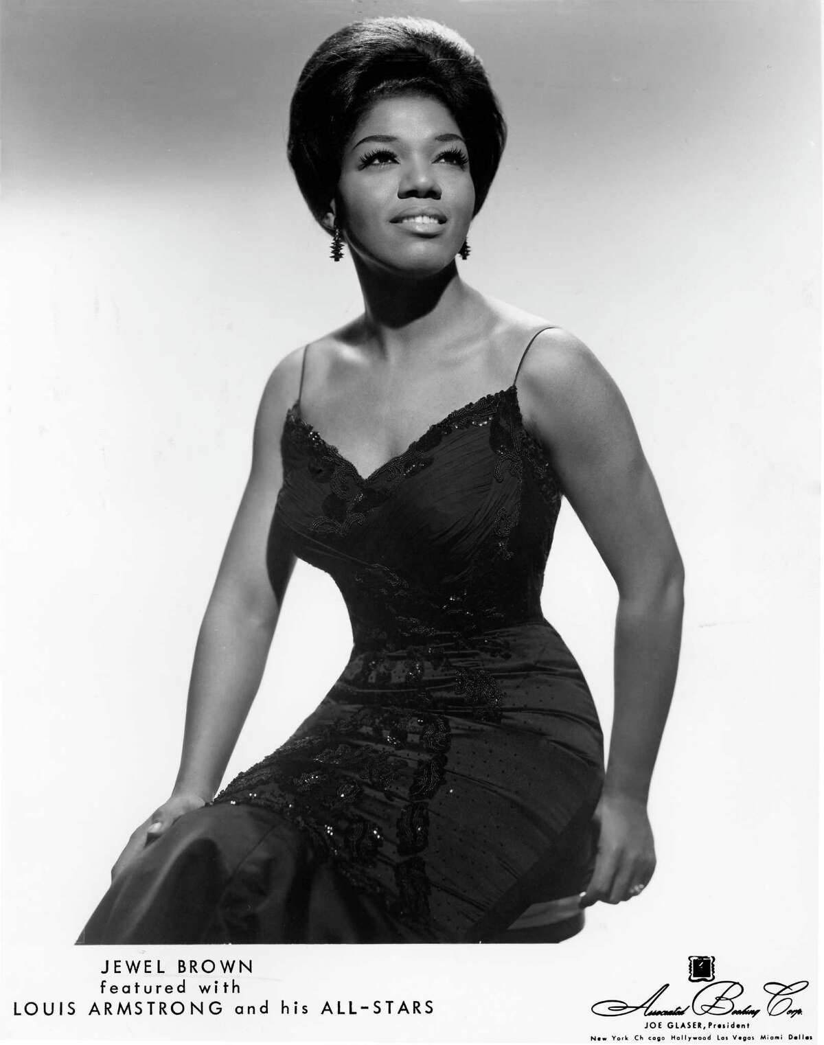 1966 - singer Jewel Brown