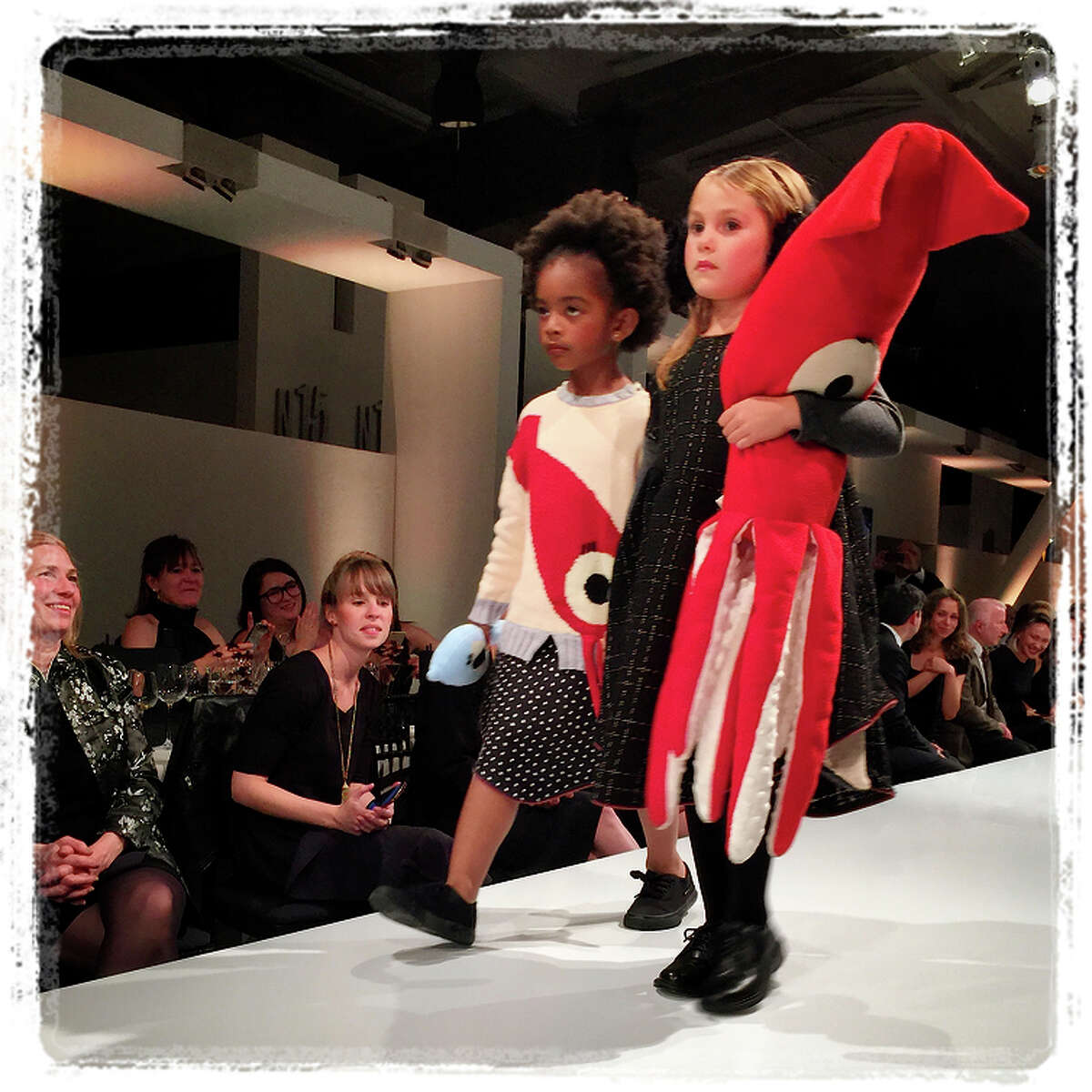 9:41 p.m. March 25: Tots model dream-inspired creations by CCA alum/Simply owner Pin Yun (Sindia) Lin.