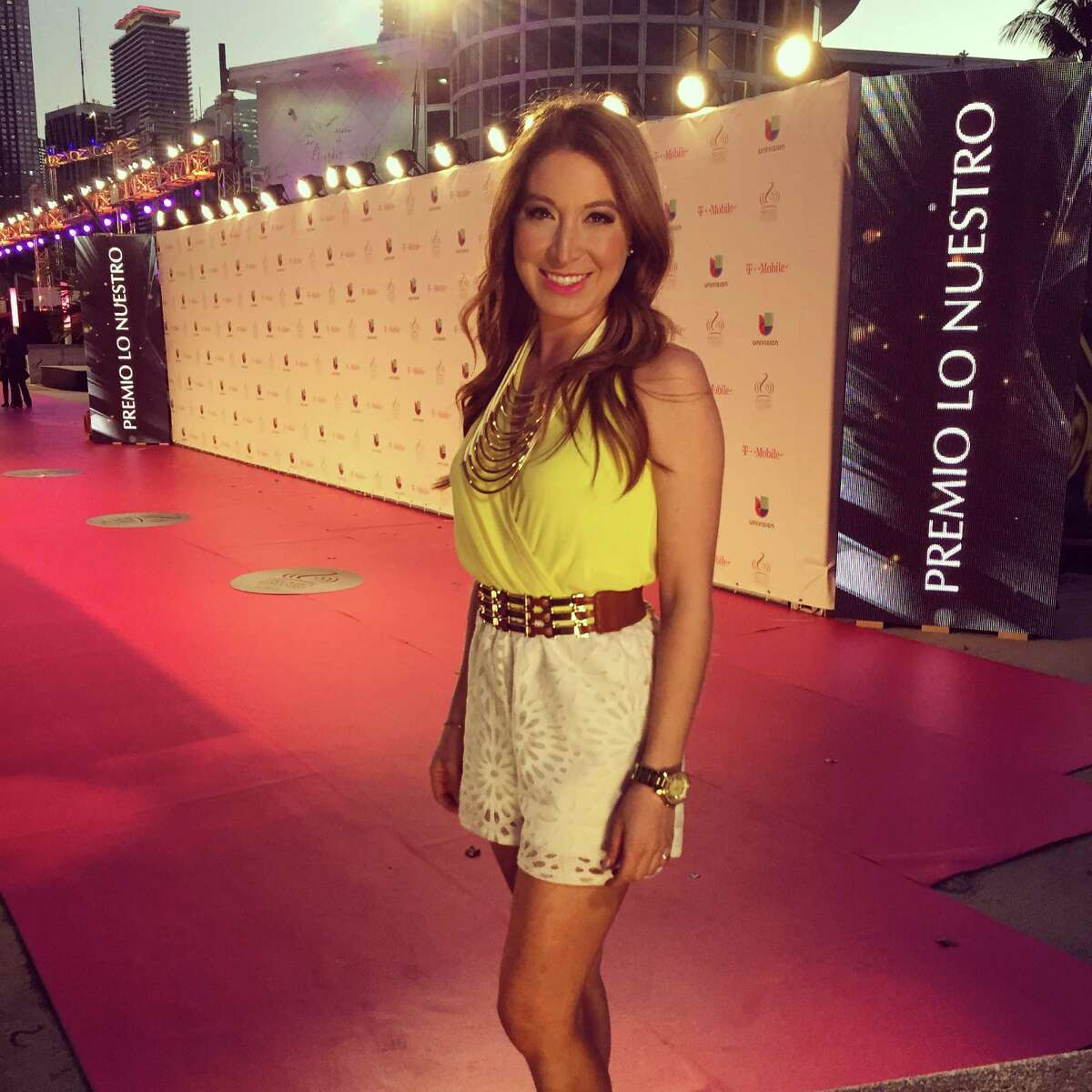 1. Bilingual journalist, Mariana Veraza - 25 Mariana is Univision 41 journalist, where she has her own weekly segment,