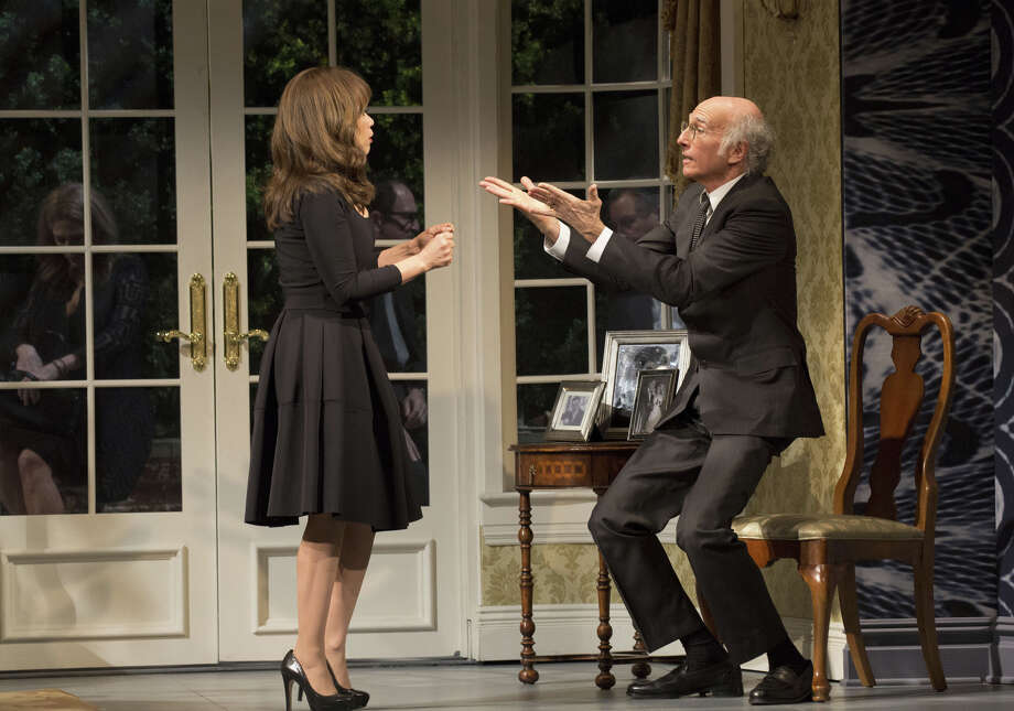 "Rosie Perez is featured in the Larry David comedy ""Fish in the Dark"" which opened on Broadway last month. Photo: Contributed Photo / Connecticut Post Contributed"