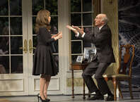 "Rosie Perez is featured in the Larry David comedy ""Fish in the Dark"" which opened on Broadway last month."