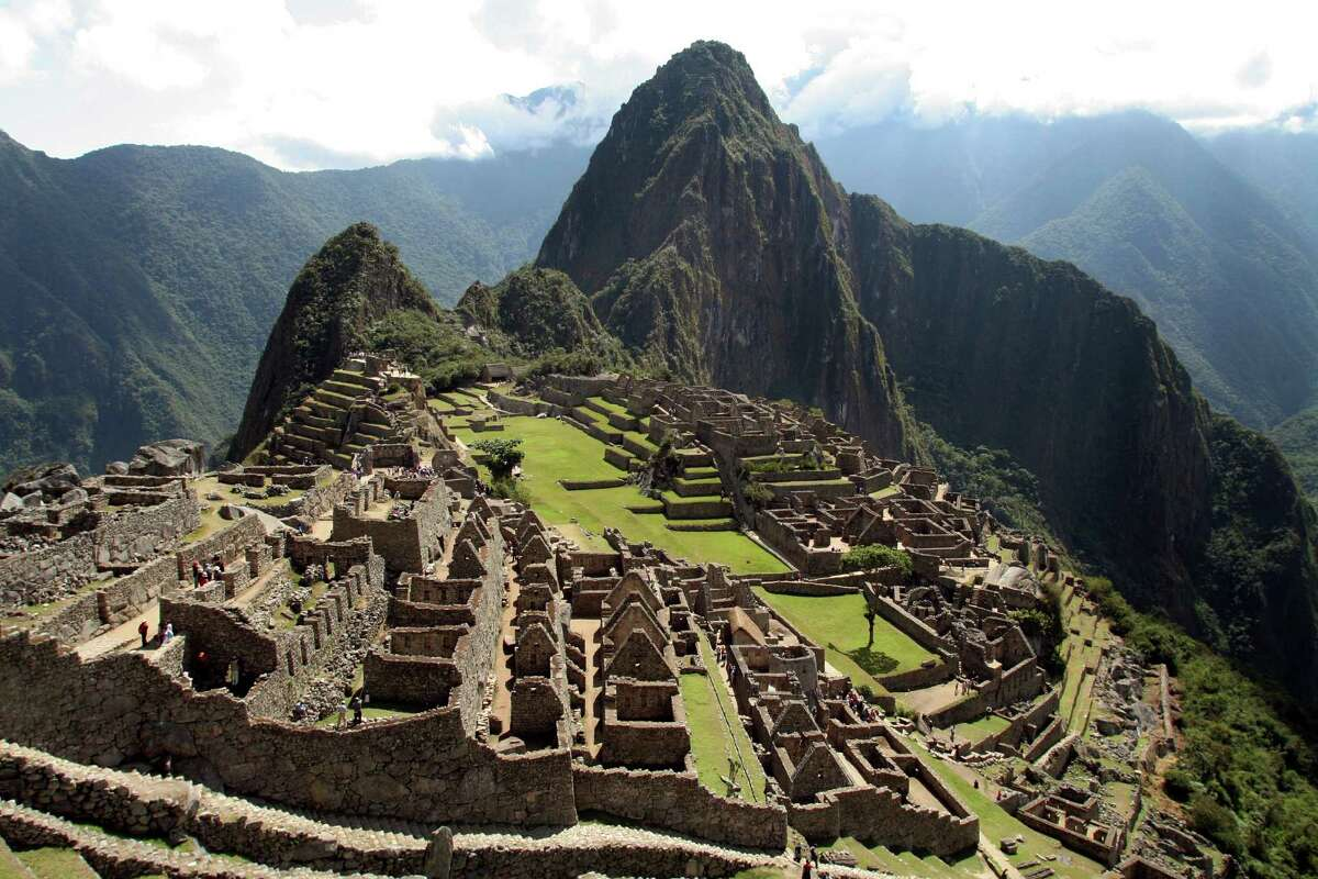 Maybe you've always wanted to visit Machu Picchu in Peru. Just do it.
