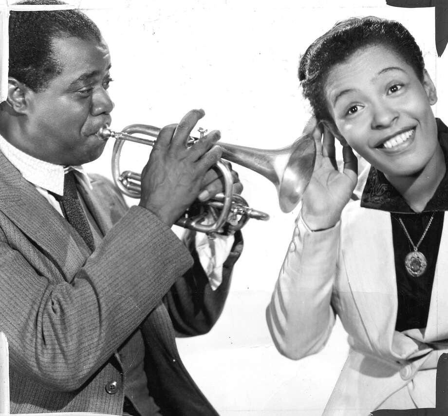Louis Armstrong and Billie Holiday, 1949.