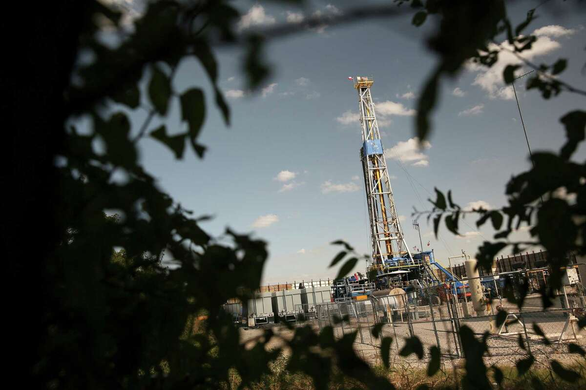 Denton is among the places that have hydraulic fracturing sites. Some analysts predicted that the drop in oil prices would cause a good amount of the oil business to go under. That hasn't happened.