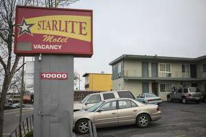 Starlite Hotel on March 27th 2015. The Oakland City Attorney sued to close the hotel, which he claimed is a epicenter for criminal activity such as drug dealing, prostitution and violence.