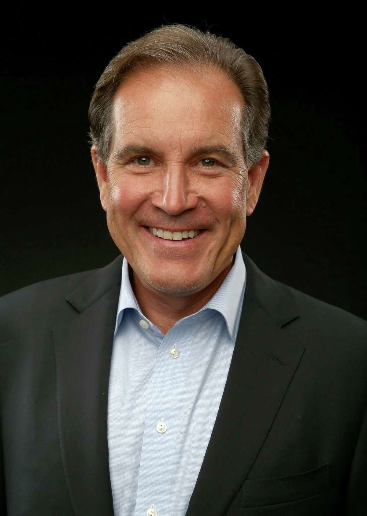 BEVERLY HILLS, CA - JULY 17: CBS' 'NFL Thursday Night Footbal' host Jim Nantz pose for a portrait during CBS' 2014 Summer TCA tour at The Beverly Hilton Hotel on July 17, 2014 in Beverly Hills, California. (Photo by Christopher Polk/CBS via Getty Images)